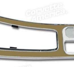 Corvette Center Console, Sadle without Power Windows, 1965-1966