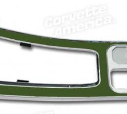 Corvette Center Console, Green without Power Windows, 1965-1967