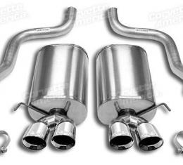 "Corvette Corsa Exhaust System Sport, with 3.5"" Pro Tips, 2005-2008"