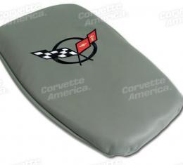 Corvette America 1997-2004 Chevrolet Corvette Vette Rest Gray with Black Logo 46766