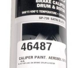 Corvette Caliper Paint, Aerosol Satin Black