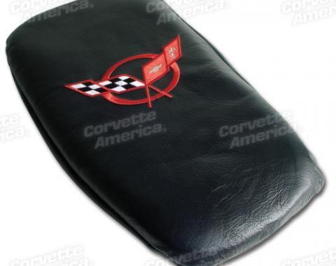 Corvette America 1997-2004 Chevrolet Corvette Vette Rest Black with Red Logo 46762
