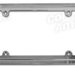 Corvette Rear License Frame, Chrome Billet, 1997-2004