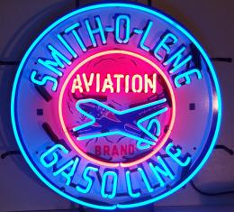Neonetics Standard Size Neon Signs, Gas - Smith-O-Lene Gasoline Neon Sign