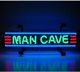 Neonetics Standard Size Neon Signs, Man Cave Red Green and Blue Neon Sign