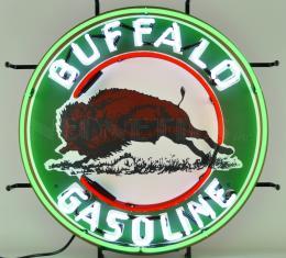 Neonetics Standard Size Neon Signs, Gas - Buffalo Gasoline Neon Sign