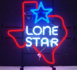 Neonetics Standard Size Neon Signs, Texas Lone Star Neon Sign