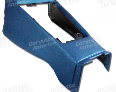 Corvette Shift Console Housing, Bright Blue (41), 1968-1969