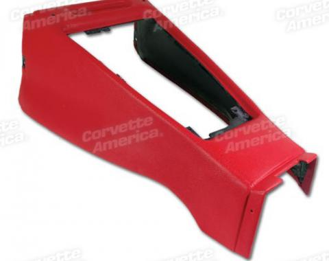 Corvette Shift Console Housing, Red (30), 1970