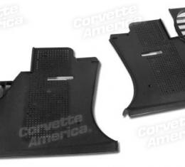 Corvette Kick Panels, Black Paint to Match, 1978-1982
