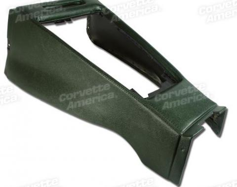 Corvette Shift Console Housing, Green (17), 1970