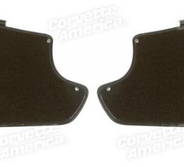 Corvette America 1963-1964 Chevrolet Corvette Kick Panels with Carpet