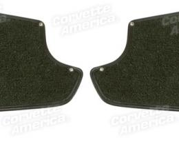 Corvette America 1965-1967 Chevrolet Corvette Kick Panels with Carpet