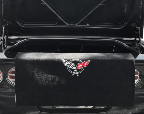 Seat Armour 1997-2004 Corvette Towel2GO Rear Bumper Trunk Armour Black T2G100C5B