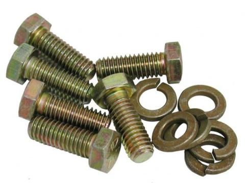 Corvette Pressure Plate to Flywheel Bolts, 6 Piece, 1956-1981