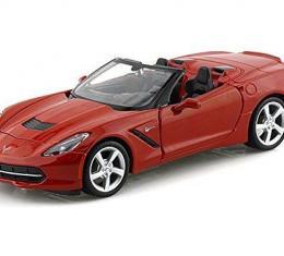 Maisto 1:24 W/B Special Edition 2014 Chevrolet Corvette C7 Stingray Convertible Red