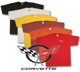 Corvette Embroidered T-Shirt with C5 Logo