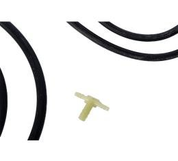 Corvette Windshield Washer Hose Kit, without Fuel Injection, 1958-1962