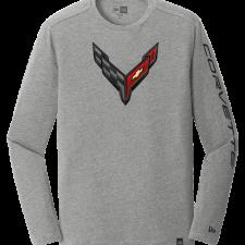 New Era C7 Corvette Carbon Flash Grey T-Shirt
