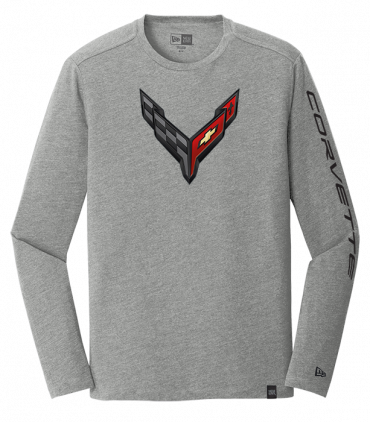New Era C7 Corvette Carbon Flash Grey T-Shirt