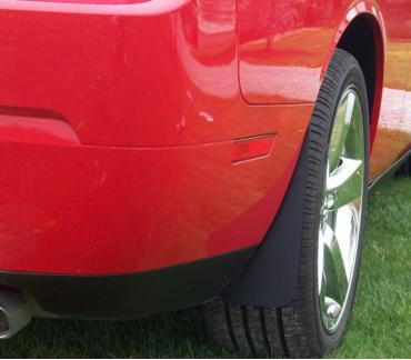 Dodge Challenger Hellcat Stealth Splash Guard Kit, 2008-2014