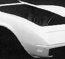 Corvette Door To Door Front End, Stock Design, 1968-1969
