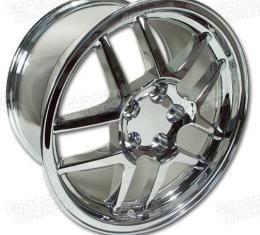 Corvette Wheel, 18 x 10.5, Chrome, Z06, 1997-2004