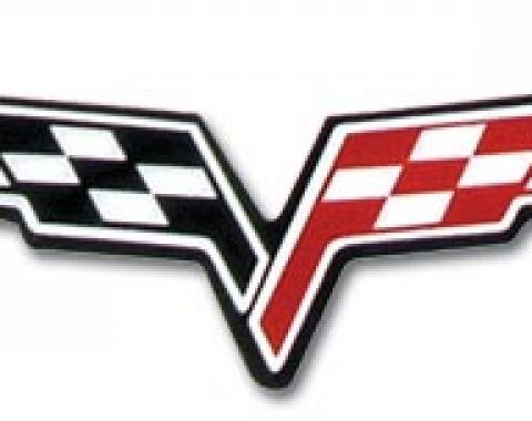 Corvette C6 Wheel Emblem, 2005-2013