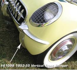 Corvette Front Bumper, Vertical, 1953-1955