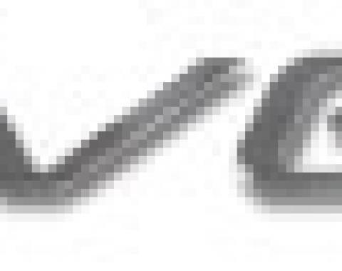 Corvette Letter Set, Rear Acrylic Chrome, 1997-2004