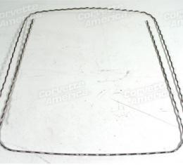 Corvette America 1967 Chevrolet Corvette Corrugated Seat Wire Kit 2 Piece 41744