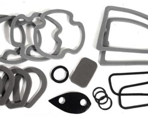 Corvette Body Gaskets, 1970-1972