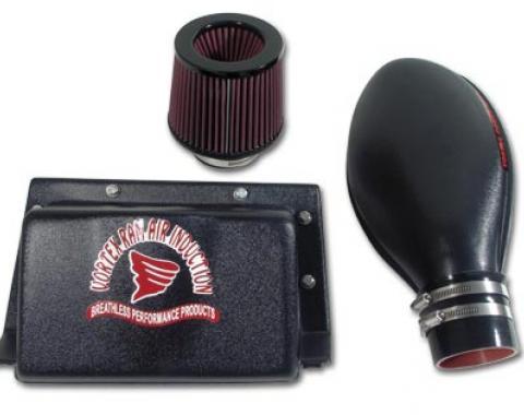 Corvette Vortex Rammer Cold Air System, Black, 1985-1989