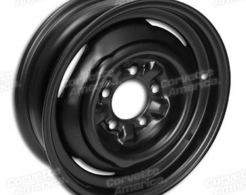 "Corvette Steel Wheel, Welded, 15"" x 5"", 1956-1964"