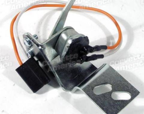 Corvette Brake Light Switch with Bracket, 1968