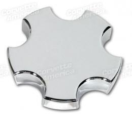 Corvette Wheel Cap, Chrome, 1997-2004