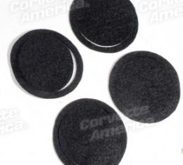 Corvette Air Conditioning Duct Seals, Set Of 4, 1968-1974