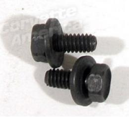 Corvette Hood Release Assembly-Dash Bolts, Set, 1968-1982