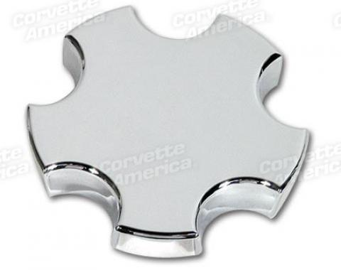 Corvette Wheel Cap, Chrome, 1997-2004