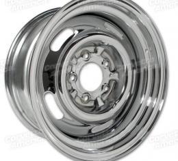 Corvette Rallye Wheel, Chrome 15X7, 1968