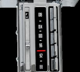 AAR 1966 Chevrolet Corvette AM/FM Reproduction Radio with Bluetooth 532205BT