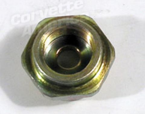 Corvette Carb Inlet Fitting, 427 3/8- Line, 1966-1967