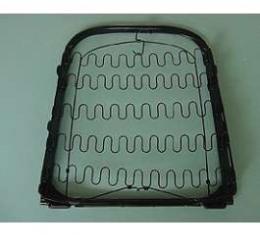Corvette Seat Frame Back - Left or Right, 1965-1966