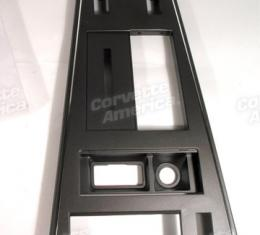 Corvette Shift Console Plate, with Power Windows & Rear Defrost, 1982