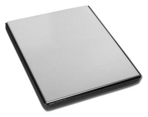 Corvette Battery Top Cover, Polished Ss, 1984-1996