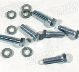 Corvette Transmission To Engine Bolt Set, Pwrglide, 1963-1967