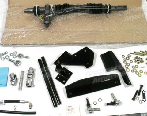 Corvette Rack & Pinion Conversion Kit, Small Block, 1967-1979