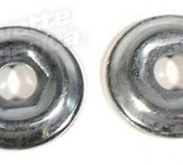 Corvette Shock Retainers, Lower, 1963-1967