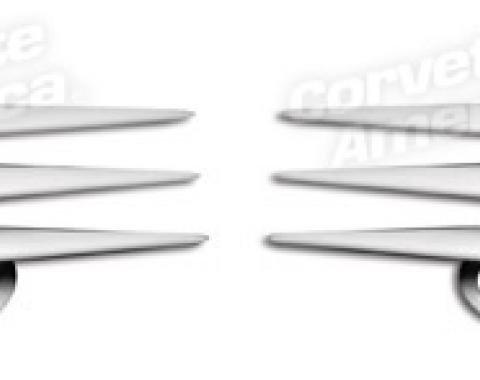 Corvette C5 Fender Grille Inserts, 1997-2004