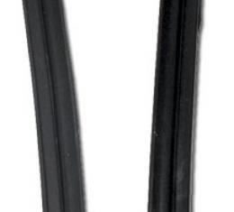 Corvette Weatherstrip, Convertible Top Center Side Rails, 1956-1962
